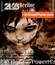 Gaara theme screenshot