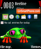 Frog 06 theme screenshot