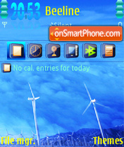 Wind 03 theme screenshot