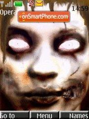 Скриншот темы Zombie Eyes