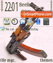 A.K.47 GT2009. theme screenshot