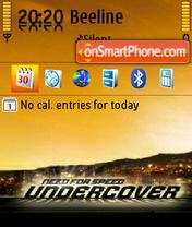 Скриншот темы Nfs Undercover 05