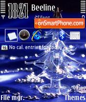 Скриншот темы Christmas tree 03