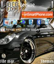 Mercedes Shark theme screenshot