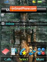 Wood Girl theme screenshot