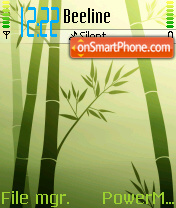 Bamboo theme screenshot
