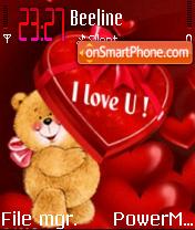Love Bear 01 es el tema de pantalla