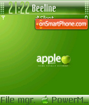 Green Apple 03 theme screenshot