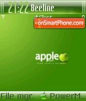 Green Apple 03 es el tema de pantalla