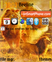 Lions 01 theme screenshot