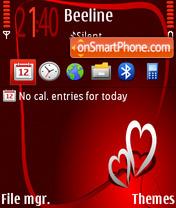 14 february theme screenshot