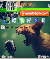 Discoball tema screenshot