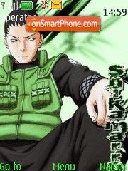 Shikamaru es el tema de pantalla