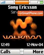 Walkman theme screenshot
