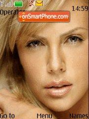 Charlize Theron theme screenshot