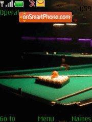 Billiard es el tema de pantalla
