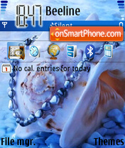 seadream theme screenshot
