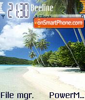 Beach 29 theme screenshot