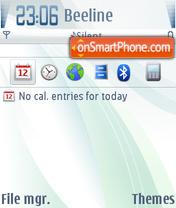 Скриншот темы Carbide toush