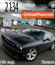 Dodge Challenger 03 theme screenshot