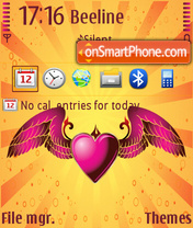 Valentine 2011 theme screenshot