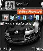 Vw Golf Gti Tuned theme screenshot