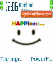 Happiness 01 es el tema de pantalla