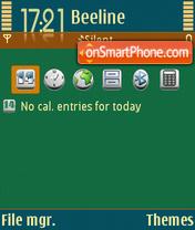 Texas Poker theme screenshot