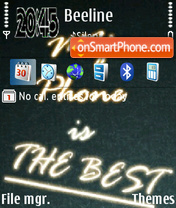 My Phone tema screenshot