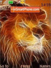 Fire Lion theme screenshot