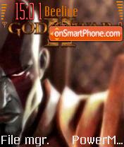 God of War 2 v1 es el tema de pantalla