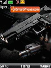 Guns theme screenshot
