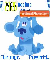 Blues Clues theme screenshot