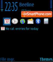 Black&Blue nb theme screenshot
