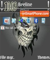Skull Eye es el tema de pantalla