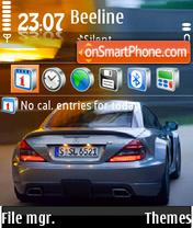 Auto Mercedes theme screenshot