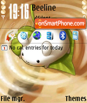 Kawaii theme screenshot