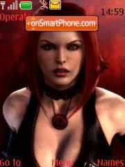 BloodRayne COOl theme screenshot