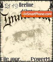 Immortal 01 es el tema de pantalla