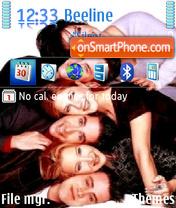 Скриншот темы Serial Friends