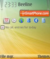 Lifestream Fp1 theme screenshot