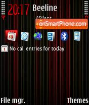 Скриншот темы Neon Dhs def