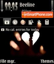 Heart Dark theme screenshot