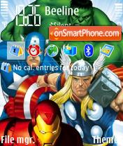 Marvel Super Heroes theme screenshot