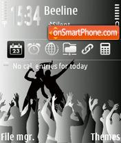 Rock 01 theme screenshot