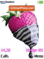 Strawberries es el tema de pantalla