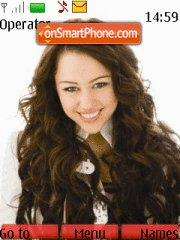 Miley Cyrus es el tema de pantalla