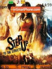 Step Up 2 theme screenshot