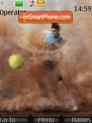 Roger Federer tema screenshot
