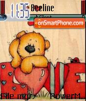 Cute Teddy 01 theme screenshot